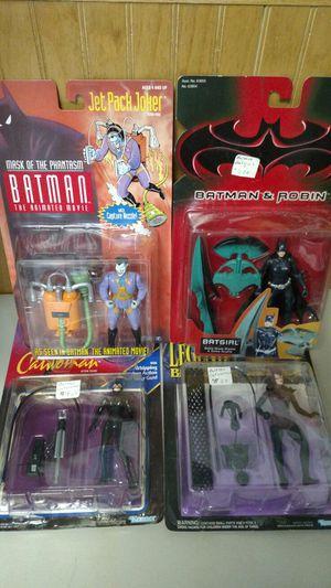 4 Batman action figures for Sale in Pineville, NC