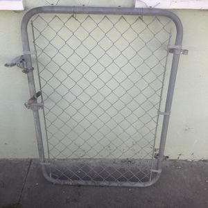 4 foot High Chain Link Gate for Sale in Santa Ana, CA