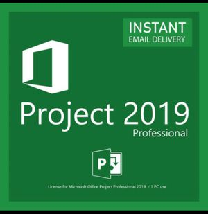 Microsoft Project Professional 2019 for Sale in Elizabeth, NJ