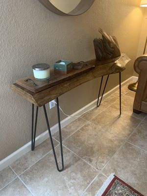 Console table Live edge for Sale in Austin, TX