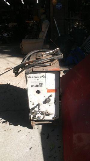 Welder millermatic 200 for Sale in Crestline, CA