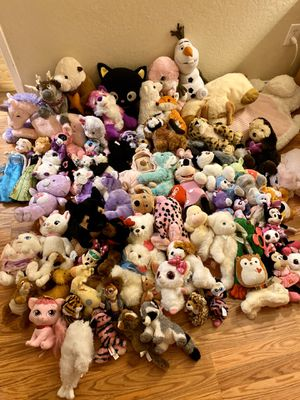 LARGE Stuffed Animal Lot for Sale in Sonoma, CA