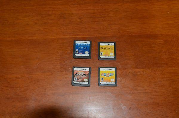 Assorted Nintendo DS games