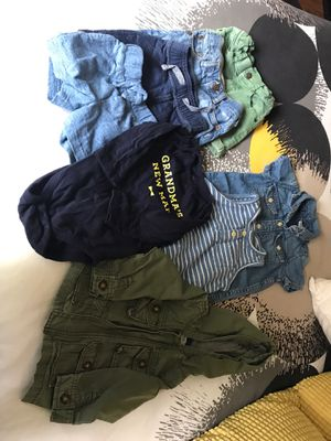 A lot of 8 clothes in a size 6-12 months for Sale in Hayward, CA