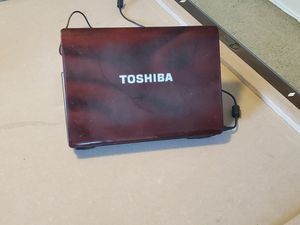 "17"" screen Toshiba Laptop Webcam Wifi DVD Microsoft office Installed 4gb ram for Sale in Katy, TX"