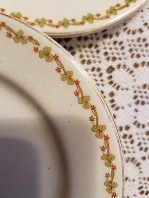 Shamrock vintage/antique plates, St Patrick's Day for Sale in Hampden, ME
