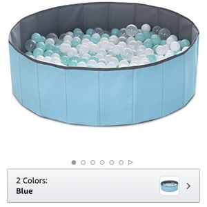 Foldable Ball Pool and Balls for Sale in Maple Valley, WA