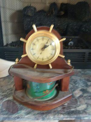 Antique nautical clock for Sale in Tuckerton, NJ
