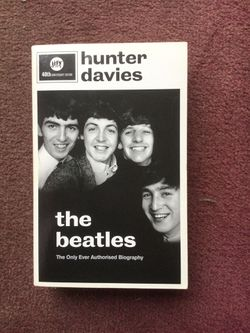 The Beatles Authorized biography Soft Cover for Sale in Rochester,  NY