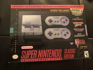 Super Nintendo Classic Edition for Sale in Houston, TX