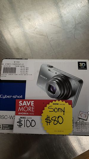Sony Cyber-Shot Camera for Sale in Chicago, IL