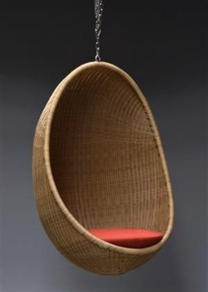 1 Hanging wicker Egg Chair for Sale in Concord, CA