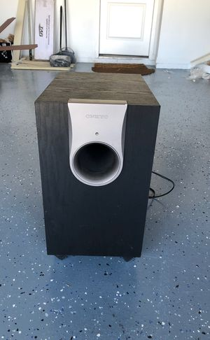ONKYO SUBWOOFER, WORKS PERFECT VERY LOUD for Sale in Heathrow, FL