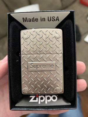 Supreme diamond zippo bruh for Sale in Murfreesboro, TN