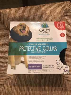 Calm Paws Protective Dog Collar / Large (Brand New) for Sale in San Antonio, TX