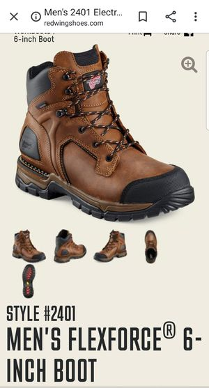 Red Wing boots (aluminum toe) for Sale in Los Angeles, CA