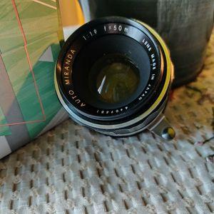 Miranda 50mm 1.9 for Sale in Los Angeles, CA