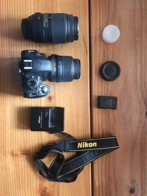 Nikon D3100 DSLR Camera + 2 lenses for Sale in Staten Island, NY