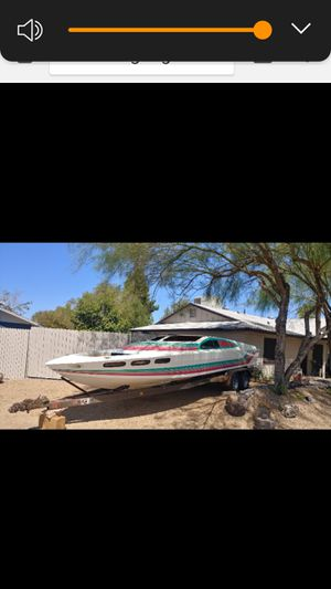 1987 sleekcraft 26 'open bow project ,Twinn 460 FORD twin Birkley jets have all the parts to put her on the water ,or trade for comp would part it,out for Sale in Glendale, AZ