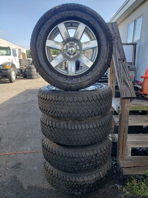Jeep wheels and tires for Sale in Tampa, FL