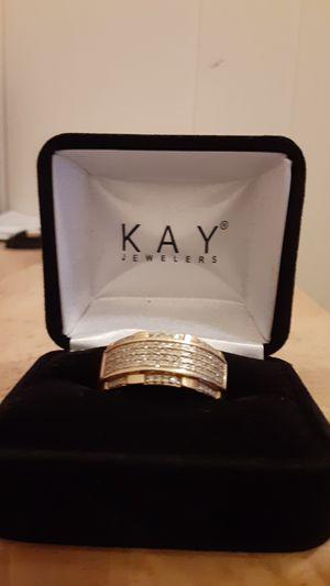 Men's wedding ring 10k 1/4 carat diamond for Sale in Albany, NY