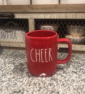 "Rae Dunn Red ""Cheer"" Mug for Sale in La Porte, TX"