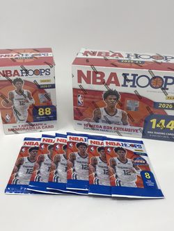 Panini NBA Hoops Basketball Card Lot - Explosive Parallels and Autograph Cards for Sale in Springfield,  VA