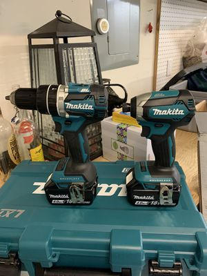 Makita impact driver and hammer drill kit for Sale in Happy Valley, OR