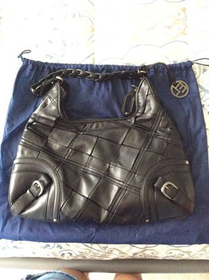 Black Leather Elliot Luca Purse for Sale in Telford, PA