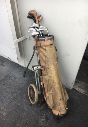 Old golf clubs for Sale in Buena Park, CA