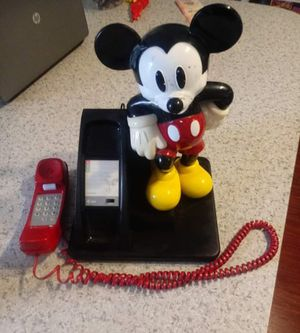 Vintage Mickey Mouse Disney telephone for Sale in Boynton Beach, FL