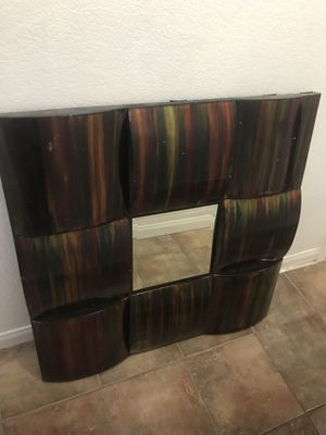 Wall Art with mirror piece for Sale in Littlerock, CA