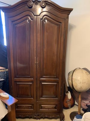 Wood Cabinet with Storage for Sale in Agoura Hills, CA