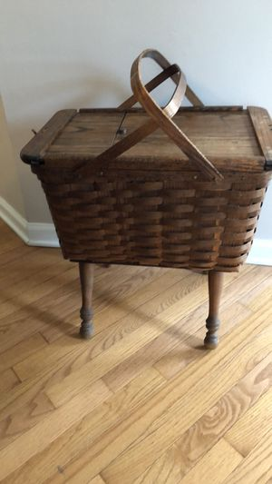 Antique sewing basket for Sale in Columbus, OH