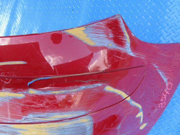 Mercedes Benz SLK280 SLK350 Class rear bumper cover 3540