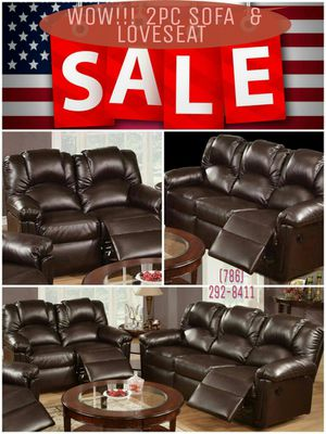🎈🎈2PC Sofa & Loveseat Motion Recliners🎈🎈 for Sale in Hialeah, FL