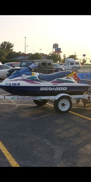 96 Seadoo Bombardier GSX Trade or Sell for Sale in Dallas, TX