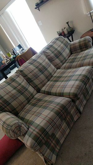Free couch plaid for Sale in Bend, OR