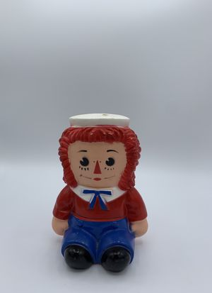 Raggedy Andy Plastic Piggy Bank Bobbs Merrill for Sale in Los Angeles, CA