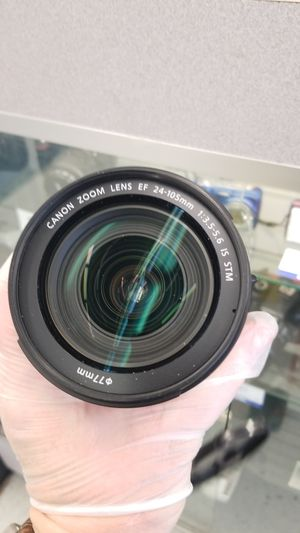 Canon 24-105mm -re-list for Sale in Lewisville, TX