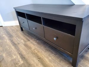 IKEA Hemnes TV stand and wall shelf, optional bookshelves for complete entertainment center for Sale in Vancouver, WA