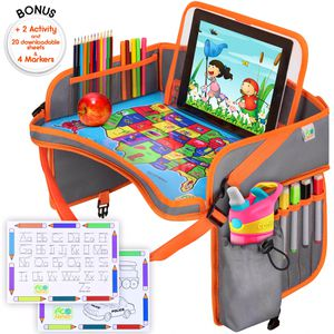 US Kids Travel Car Seat Tray, Toddlers Organizer, Road Trips Activities For Kids (free shipping) for Sale in Clifton, NJ