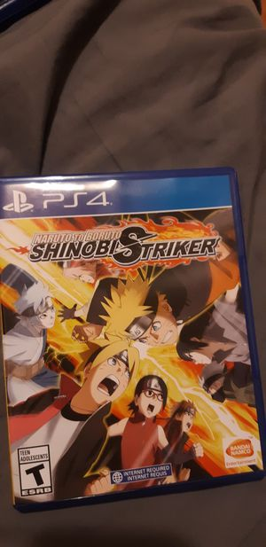 Game | Ps4 | Naruto to Boruto Shinobi Strikers for Sale in Vernon, CA