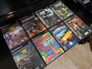 Playstation 2 Games! ▪︎ $7 Each \ $40 for ALL for Sale in North Las Vegas, NV