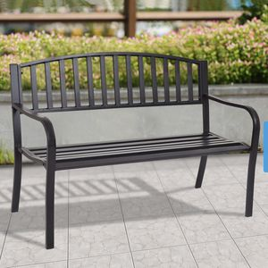 Outdoor Furniture Steel Slats Porch Chair Seat for Sale in Pumpkin Center, CA
