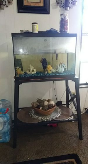 25 gallon fish tank (everything included) for Sale in Okeechobee, FL