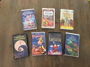 Disney VHS Videos Some Black Diamond for Sale in Franklin, TN