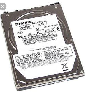 160GB Toshiba Hard Drive for Sale in Philadelphia, PA