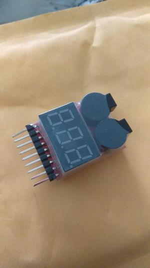 Drone battery voltage checker & warning buzzer for Sale in Houston, TX