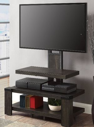 """NEW 3-Shelf Television Stand with Floater Mount for TVs up to 55"""", Perfect for Flat Screens for Sale in Rantoul, IL"""